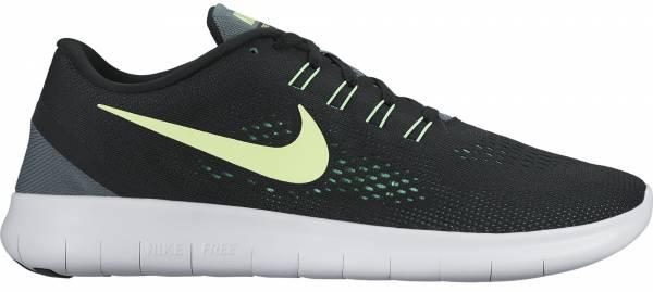 Nike Free RN men zwart