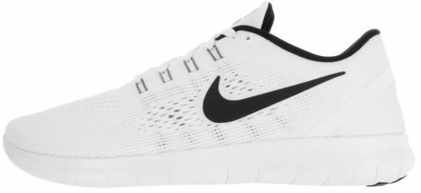 Nike Free RN men white (white/black)
