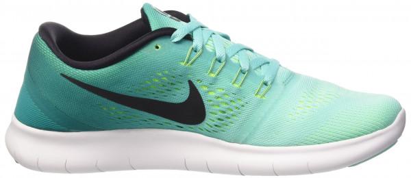 Nike Free RN woman hyper turquoise/rio teal/volt/black