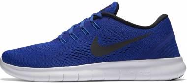 Nike Free RN - concord black hyper cobalt 400 (831508400)