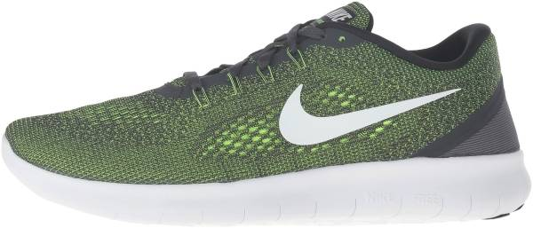 8b0252e85895 Nike Free RN Gris (Anthracite   Off White-volt-black)