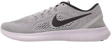 Nike Free RN - WHITE/BLACK-PURE PLATINUM (831508101)