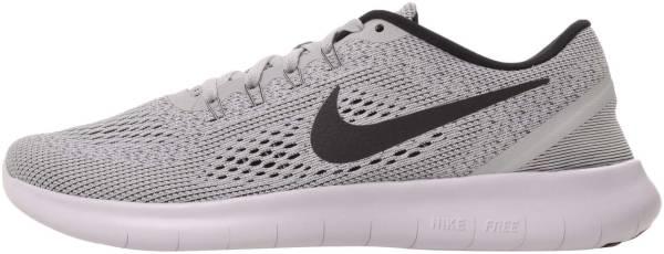 Nike Free RN White/Black/Pure Platinum