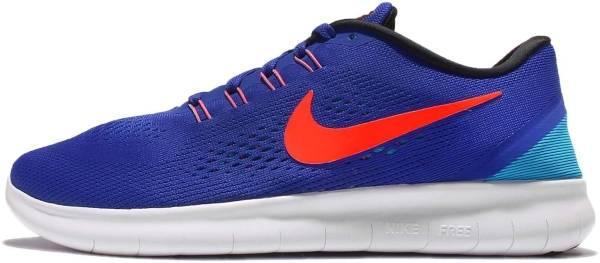 Nike Free RN men concord/total crimson-black-blue lagoon