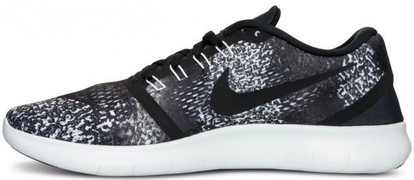 Nike Free RN men black/white/anthracite/black