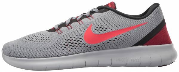 Nike Free RN men grau/rot
