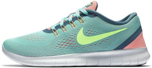 Nike Free RN woman hyper turquoise/ghost green/lava glow
