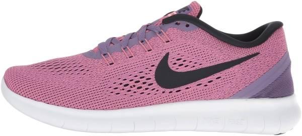 Nike Free RN woman canyon purple/lava glow/work blue/black