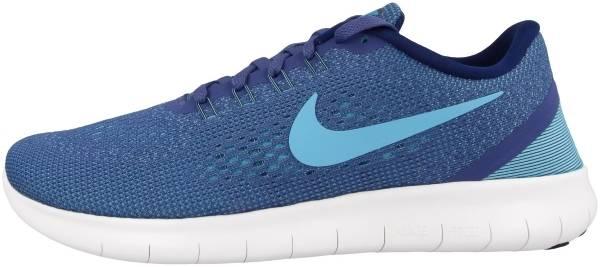 Nike Free RN woman blauw