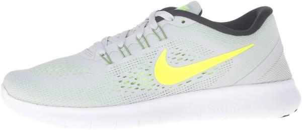 Nike Free RN woman grey (pure platinum/volt/black/wolf grey)