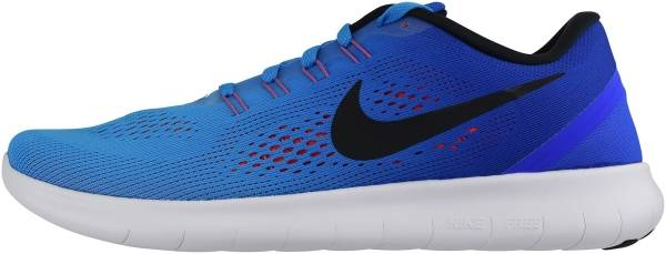 half off 818d9 193ec Nike Free RN Blue (Blue Glow Black Racer Blue Bright Crimson
