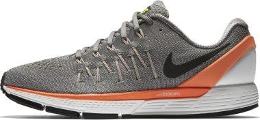 Nike Air Zoom Odyssey 2 - Grigio Staub Schwarz Hyperorange Volt (844545018)