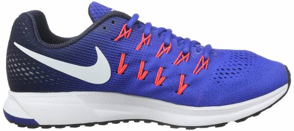 Nike Air Zoom Pegasus 33 men multicolore (racer blue/white-midnight navy-blue glow)