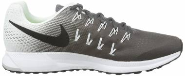 Nike Air Zoom Pegasus 33 - Dark Grey / Black - White