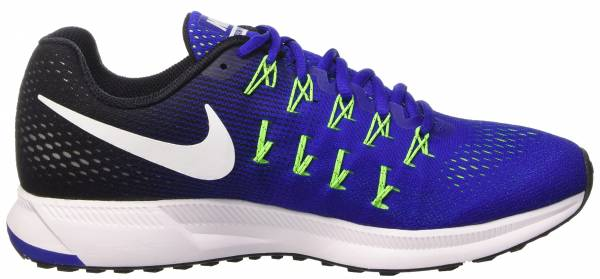 Nike Air Zoom Pegasus 33 - Concord/White-black-electric Green (831352400)