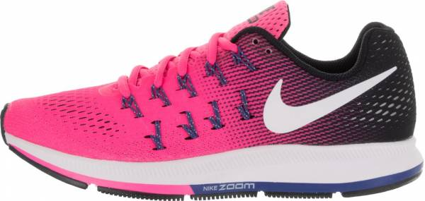 womens nike zoom pegasus 33 red pink