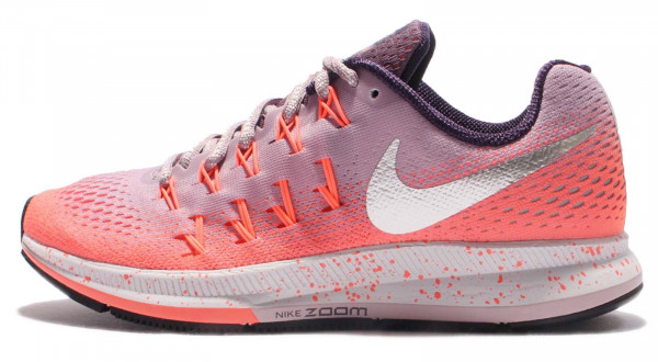 womens nike zoom pegasus 33 orange pink