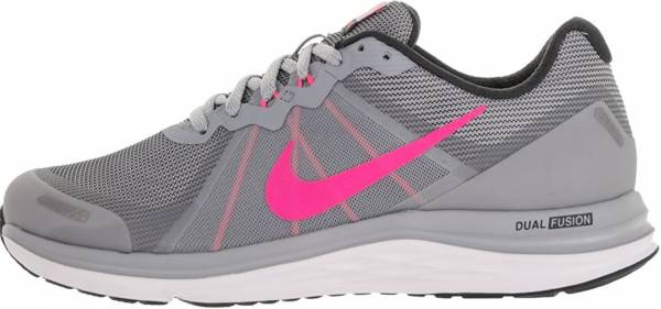 Nike Dual Fusion X 2 Grey (Wolf Grey Pink Blast-anthracite-white c8f191a1c
