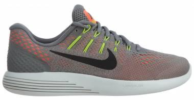 Nike LunarGlide 8 Multicolore (Staub/Hyper Orange/Elektrolimette/Schwarz) Men
