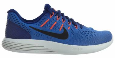 Nike LunarGlide 8 - Medium Blue/Black (843725403)
