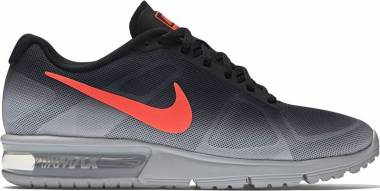 Nike Air Max Sequent - Metallic Silver/Black/Dark Grey/Bright Crimson (719912011)