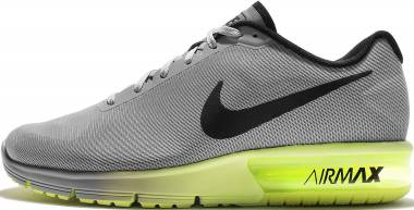 Nike Air Max Sequent - Gris Wolf Grey Black Volt (719912013)