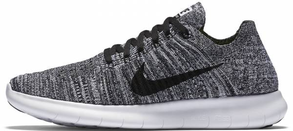 Nike Free RN Flyknit - Grey (831070100)