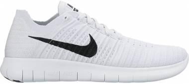 Nike Free RN Flyknit - White (831069101)