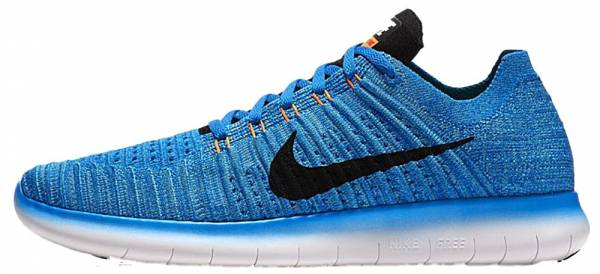 sale retailer 517d0 db400 Nike Free RN Flyknit Blue. Any color. Nike Free RN Flyknit Black   White Men