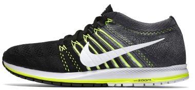 Nike Zoom Flyknit Streak - Black/White-dark Grey-volt (835994001)