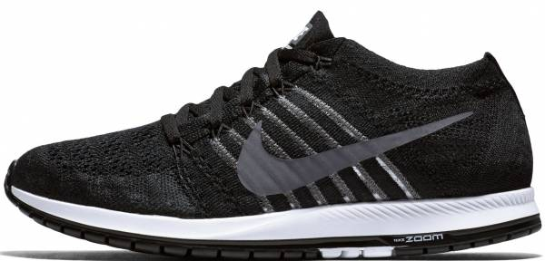 Nike Zoom Flyknit Streak Black / Dark Grey - White