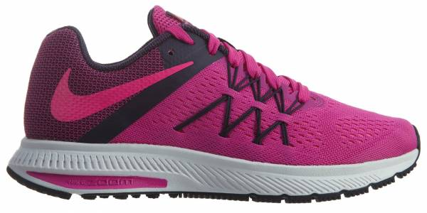 nike zoom winflo 3 womens red grey - nike zoom winflo 3 womens grey purple