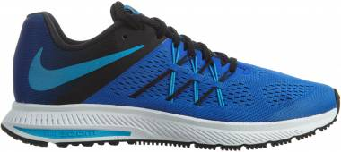 Nike Air Zoom Winflo 3 - Azul (Racer Blue / Blue Glow-black-white)