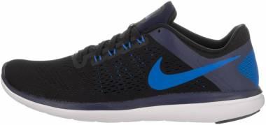 Nike Flex RN 2016 - (014) Black/Binary Blue/White/Soar (830369014)
