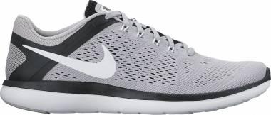 Nike Flex RN 2016 - Grau Wolf Grey White Black