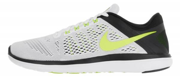 Nike Flex RN 2016 men weiu00df (white / volt-black)