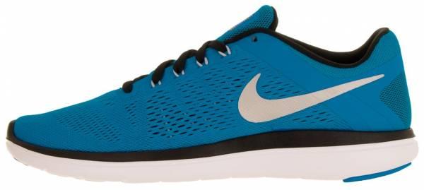 Nike Flex RN 2016 men azul (pht blue / mtllc slvr-blk-white)