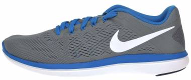 Nike Flex RN 2016 Cool Grey Blue White Men