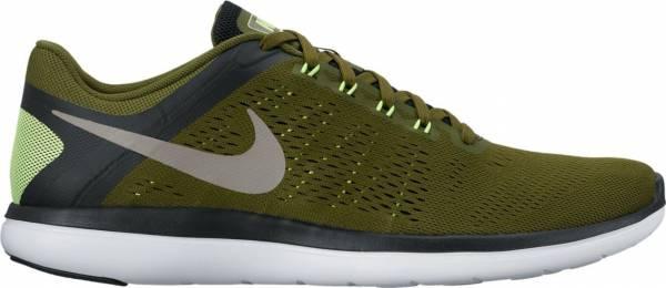 Nike Flex RN 2016 men legion green/metallic pewter/black