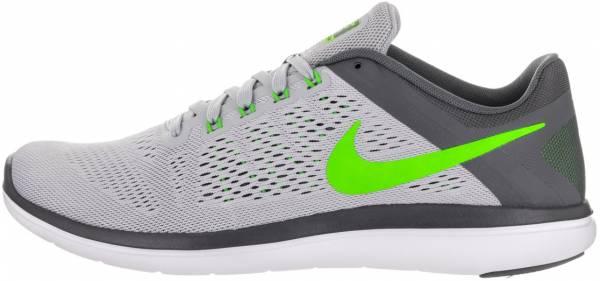 Nike Flex RN 2016 men wolf grey/rage green/dark gray/white