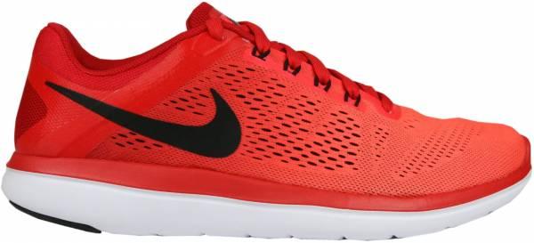 Nike Flex RN 2016 men rojo (university red / black-bright crimson)