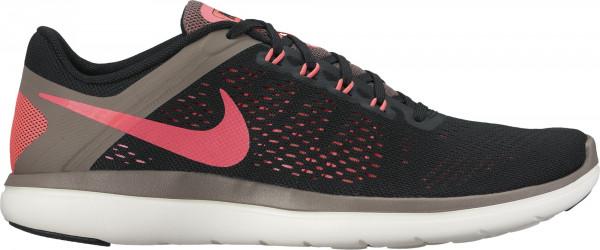 Nike Flex RN 2016 woman black/hot punch/dark mushroom/sail