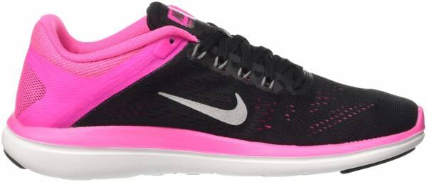 Nike Flex RN 2016 woman black/pink blast/white/metallic cool grey