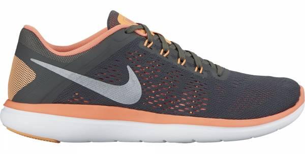Nike Flex RN 2016 woman dark grey/cool grey/bright mango