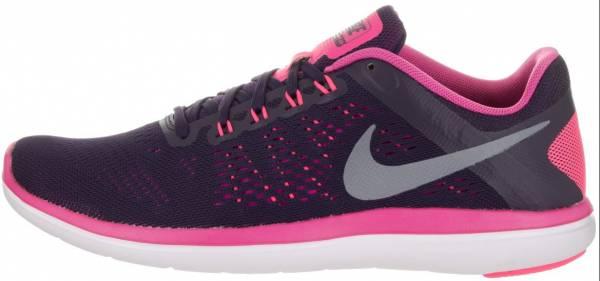 Nike Flex RN 2016 woman purple dynasty/cool grey/fire pink/white