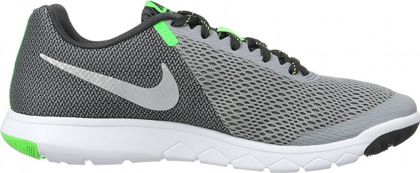 Nike Flex Experience 5 men black (stealth / metallic silver-anthracite)