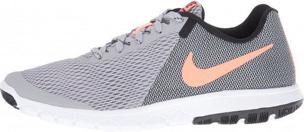 Nike Flex Experience 5 woman wolf grey/bright mango/black/white