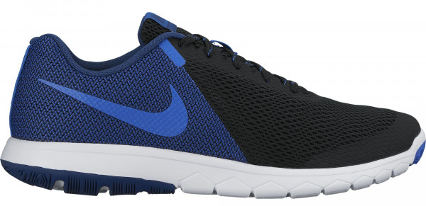 Nike Flex Experience 5 men black/hyper cobalt/coastal blue/white