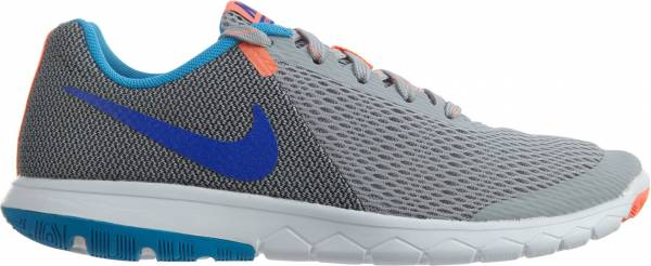 Nike Flex Experience 5 woman wolf gray/racer blue/anthracite/bright mango