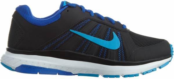 Nike Dart 12 - Black/Blue Glow-racer Blue-white (831535004)